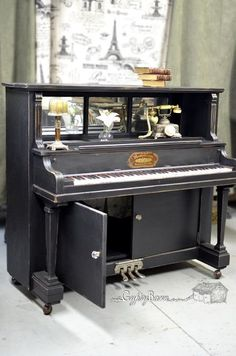 repurposed piano with many options for functionality, diy renovations projects, furniture furniture revivals, repurposing upcycling, Visit us at for more repurposing fun