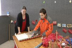 10-Year Old Wraps Gifts to Raise Money for Medical Expenses and Charity