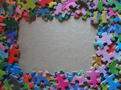 picture frame crafts | one hundredth day picture frame craft