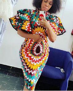 African women dress/African print dress/Ankara clothing for women African traditional wears/African shop - Africa fashion - Women African Fashion Ankara, Latest African Fashion Dresses, African Inspired Fashion, African Print Fashion, Fashion Prints, Africa Fashion, Short African Dresses, African Print Dresses, African Prints