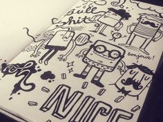 Train Doodles by Lienke Raben