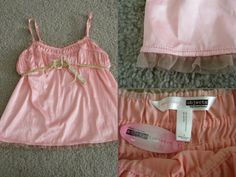 """Necessary Objects **NWT & PRICE DROP** pink babydoll tank w/ mesh trim Size: M - Find it by going to www.LoyalRoyaltyPro.com, click on the """"Miss Anthropy's Boutique"""" link on the left sidebar and click on one of the hyperlinks that say """"Miss Anthropy's Boutique"""" to be taken to all of my eBay auctions including the one below! Don't forget to check out the other content on www.LoyalRoyaltyPro.com as well!"""