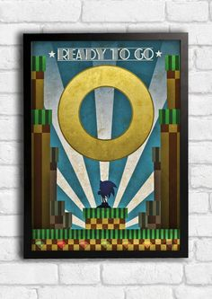Hey, I found this really awesome Etsy listing at https://www.etsy.com/listing/217940189/sonic-the-hedgehog-art-deco-style-art