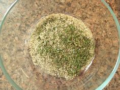 Homemade Ranch Seasoning Packet - because most store bought ranch contains wheat among other processed crap..