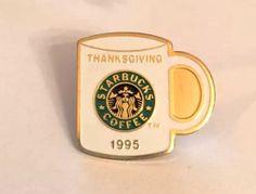 Close up of rare 1995 Thanksgiving pin