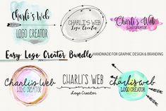 Hand Drawn Logo Crator by Charlis.Web on @creativemarket