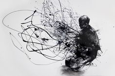 burn, burn, burn by Agnes Cecile (Silvia Pelissero). Interpretation of the famous photograph of Thich Quang Duc, a Buddhist monk from Vietnam. Black enamel paint and charcoal on canvas Agnes Cecile, Painting Videos, Art Graphique, Traditional Art, Dark Art, Framed Art Prints, New Art, Find Art, Art Drawings