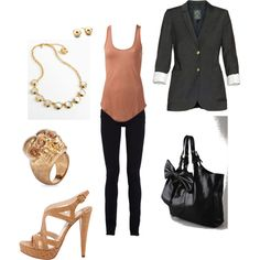 Classy and effortless!, created by on Not the shoes or the purse She Is Clothed, Perfect Wardrobe, Classy And Fabulous, Dress Me Up, Autumn Winter Fashion, Dress To Impress, Spring Outfits, Fashion Beauty, Cute Outfits