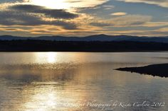 Black Butte Lake Sunset 8x10 Print by LedByLight on Etsy,
