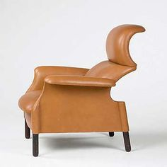 San Luca armchair designed by  Achille + Giacomo Castiglioni and  manufactured by Gavina was one of my favorite chairs often seen in Domus magazine whilst at art college in the 1960s. A fine example of this chair in original leather was estimated at US$ 3000-4000 at a Chicago auction in 2002.