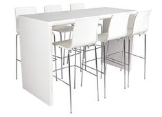 """Alice barstools with """"HÍD"""" bartable by B'rent  #rental #events"""