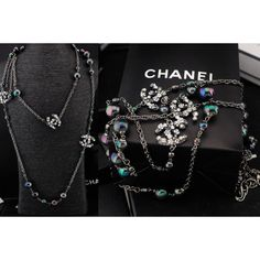 Chanel Necklaces, Alloy, Long about 130cm