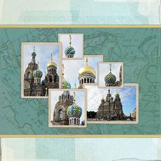 Cathedral of the Resurrection of Christ (l) - Digital Scrapbooking Ideas - DesignerDigitals -- #designerdigitals #scrapbooking #travel #vacation #europe #russia #stpetersburg #cathedral #church