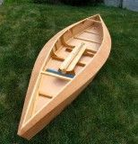 Home Made Wood Boat