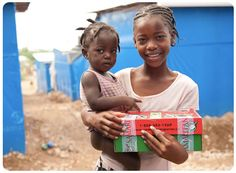 Samaritans Purse Operation Christmas Child - Wrap up a shoebox filled with presents and send it to a child in need! www.samaritanspurse.org