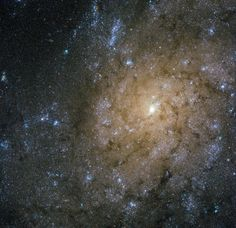 Jets and Explosions in Spiral Galaxy: This new image from our Hubble Space Telescope shows a spiral galaxy in the constellation of Sculptor some 13 million light-years away from Earth. Learn more: http://go.nasa.gov/1rCWMl8
