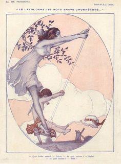 Julien Jacques Leclerc 1919 Swing