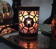 spider web halloween luminary by rob bob make it now in cricut design space