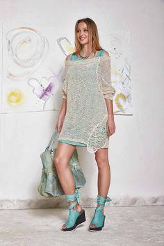DANIELA DALLAVALLE - Lookbook #woman #PE17 #elisacavaletti #danieladallavalle #shoes #dress #bag #pull #necklace