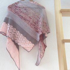 Don't stop me now shawl – tuto – Rachel says YEPA !
