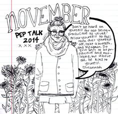 november pep talk