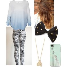 """""""Teen Outfit #46"""" by kaelarabbit on Polyvore"""