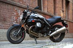 2013 Moto Guzzi Griso 8V SE Black Devil static side view