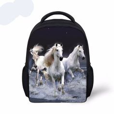 Small Zoo Animals School Bags for Kindergarten Baby,Crazy Horse Backpack Preschool Kids Book Bag Boys Mochila Girls Schoolbag Animal Backpacks, Boys Backpacks, Kids Lunch Bags, Kids Bags, Lunch Box, Horse Backpack, Denim Backpack, Small School Bags, Insulated Lunch Bags