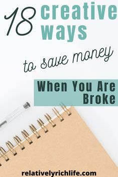 18 Creative Ways to Save Money When You are broke. Grab your pen and notebook as these tips will have you saving some serious cash! Save Money On Groceries, Ways To Save Money, Money Tips, Money Saving Tips, Total Money Makeover, Finance Jobs, Saving For Retirement, Rich Life, Financial Tips