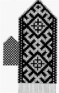 Patterns for knitting mittens Crochet Mittens Free Pattern, Knit Mittens, Knitting Socks, Knitted Hats, Knitting Charts, Knitting Stitches, Knitting Patterns, Wedding Cross Stitch Patterns, Capes For Kids