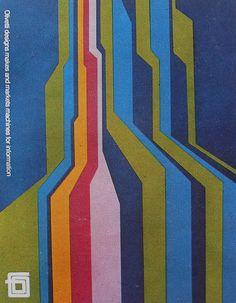 1960s OLIVETTI Typewriter Vintage Advertisement Poster Graphics 2