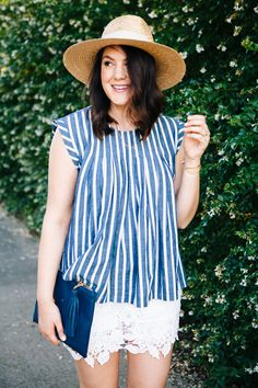 Kendi Everyday: Stripes and Lace