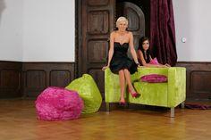 Poltrona e sedie pouf