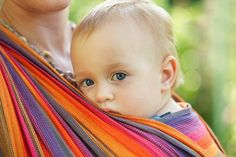 chusta do noszenia dziecka