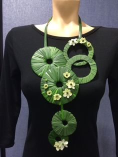 Floral Neckless by Anahit Hakobyan Viva La Flora Designs