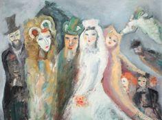 Nuntă la Brănești Artist, Poet, Israel, Paintings, Paint, Artists, Painting Art, Painting, Painted Canvas