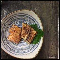 #Aburi #sashimi  #TheSushiBar by sg_foodlovers
