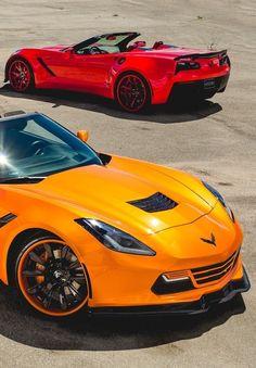 You will ❤ MACHINE Shop Café... ❤ Best of Corvette @ MACHINE ❤ (Chevrolet Corvette C7 Stingray)