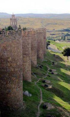 Walls of Ávila, Cstile and Leon, Spain