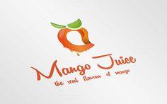 Mango Juice Logo Template