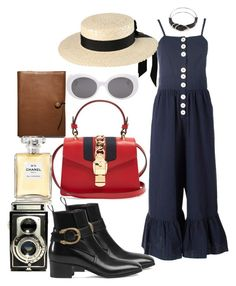 """""""Untitled #671"""" by veronice-lopez on Polyvore featuring See by Chloé, Mich Dulce, Gucci, Yves Saint Laurent, Alexander Wang, Coach, Chanel and vintage"""