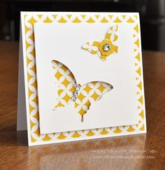 Card Creations by Beth: 3x3 CASE;  Original card by Chiaki Haverstick at www.stampingpro.com; stampin up