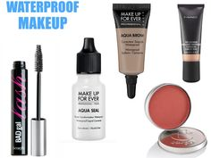 10 Waterproof Products a Beach Babe (or Sailor) Need! Makeup Must Haves, Waterproof Makeup, Helly Hansen, Beach Babe, Brows, Sailor, Aqua, Hair Beauty, Make Up