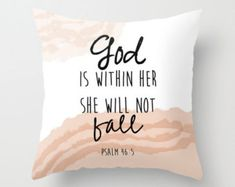 Christian pillow Bible quote God is within by PeggyandChuck Graduation Wishes Quotes, College Graduation Quotes, Inspirational Graduation Quotes, Inspirational Quotes, Graduation Caps, Grad Cap, Bible Quotes Images, Biblical Quotes, Religious Quotes