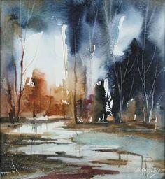 Art Of Watercolor: Maria Ginzburg. Interview.
