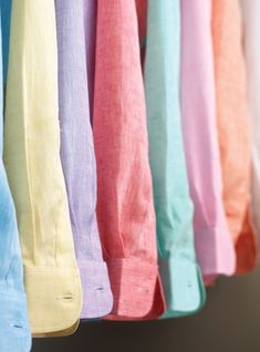 Charleston Linen Shirts