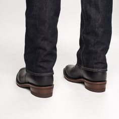 The Bootery/Wesco® - Boss Engineer - Black Domain Mens Redwing Boots, Red Wing Boots, Engineer Boots, Long Tops, Black Tie, Boss, Engineering, Heels, Ranger