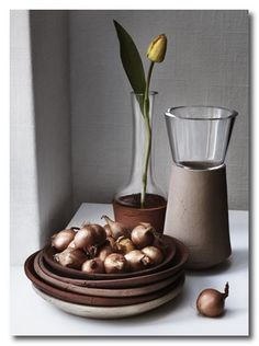 Food and Tableware From The Same Soil