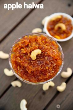 apple halwa recipe, apple ka halwa, how to make apple halwa with step by step photo/video. popular indian dessert recipe with grated apple, sugar & ghee. Indian Desserts, Indian Sweets, Indian Food Recipes, Apple Recipes Easy Indian, Easy Indian Dessert Recipes, Sweets Recipes, Cooking Recipes, Jamun Recipe, Recipes