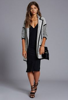 Dre Oversized Knit Coat